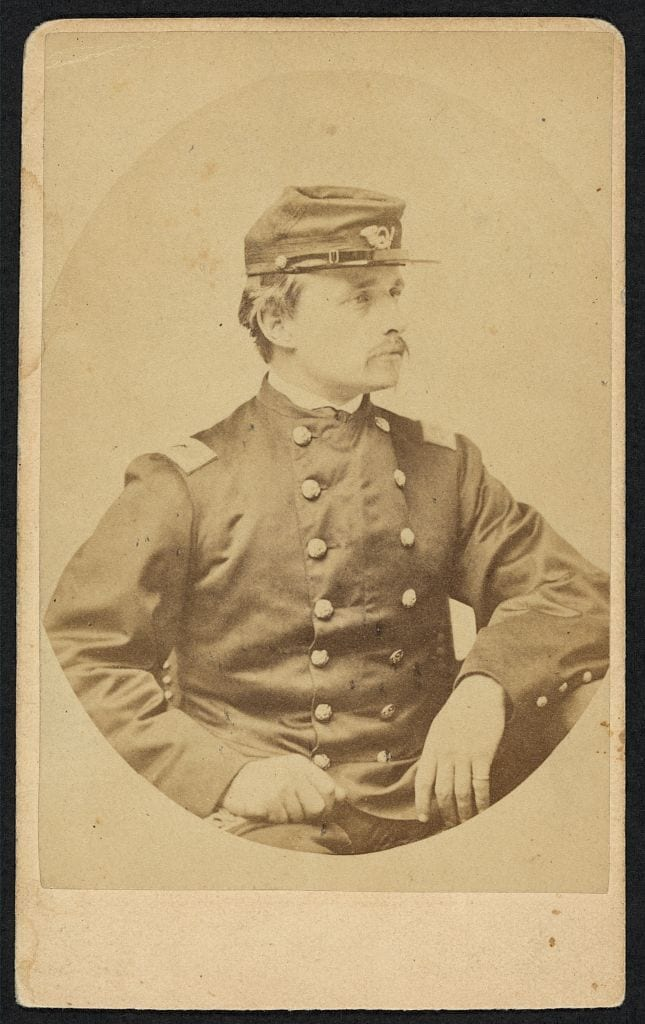 Col. Robert Gould Shaw, 54th Mass Inf. (Photo: Library of Congress https://www.loc.gov/item/2010647750/ )