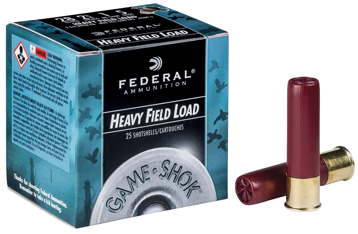 The Game Shok by Federal Ammunition will see three new 28-gauge loads. (Photo: Vista Outdoors)