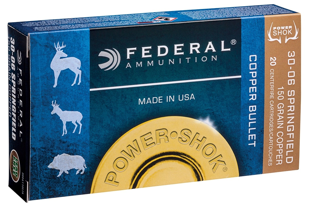 The Power-Shok Copper offers a non-lead bullet encased in Federal brass. (Photo: Vista Outdoors)