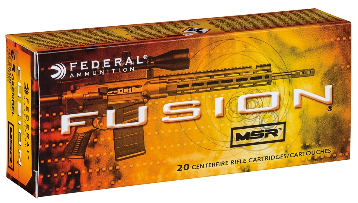 The 6.5 Grendel is the latest caliber to join the Fusion series. (Photo: Vista Outdoors)
