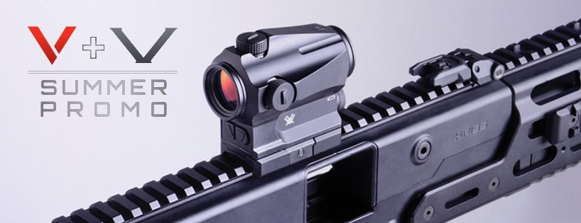 Kriss offers Vector consumers a free Vortex Optic now through September. (Photo: Kriss USA)
