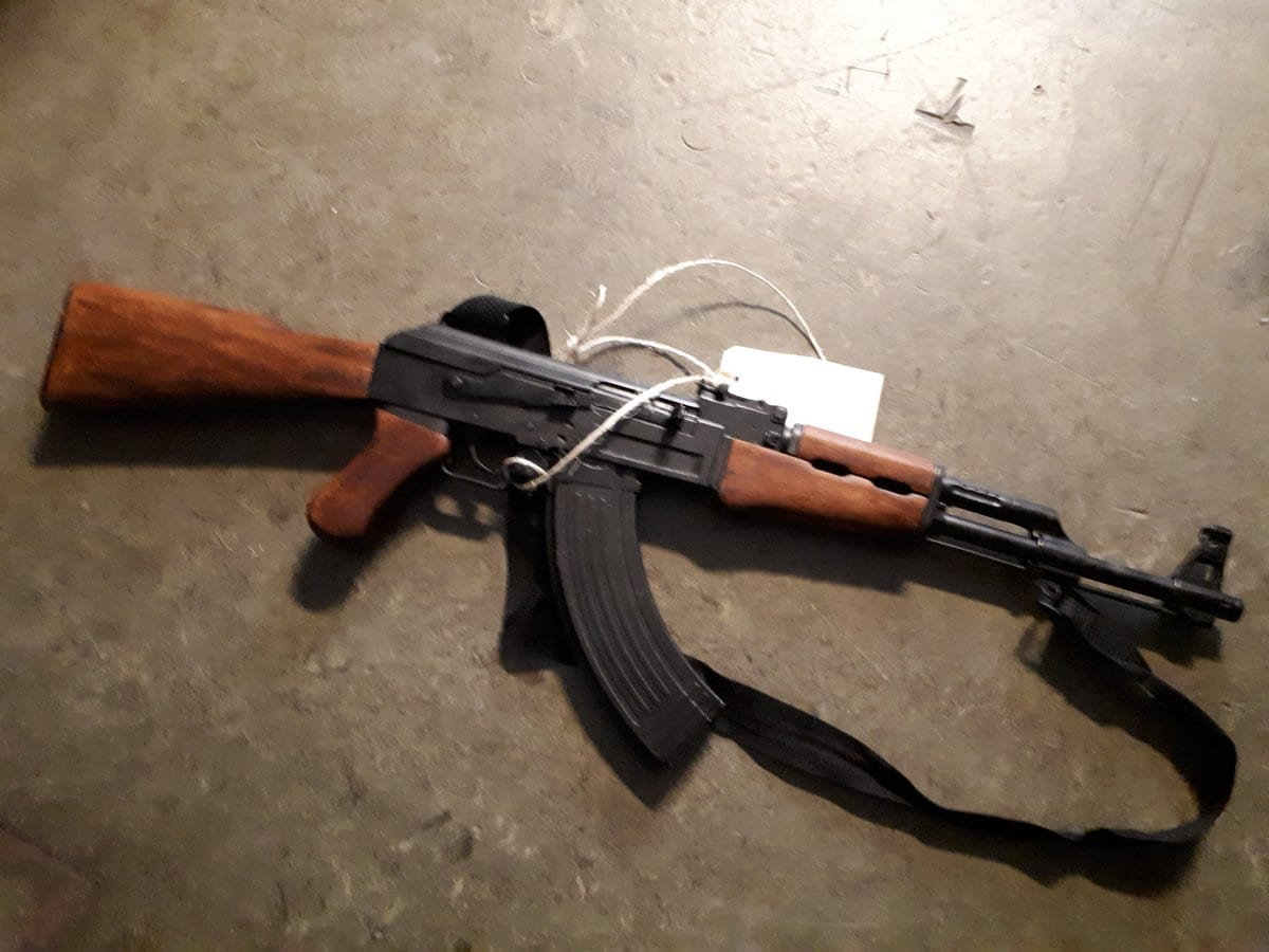 How about a nice milled receiver AK?