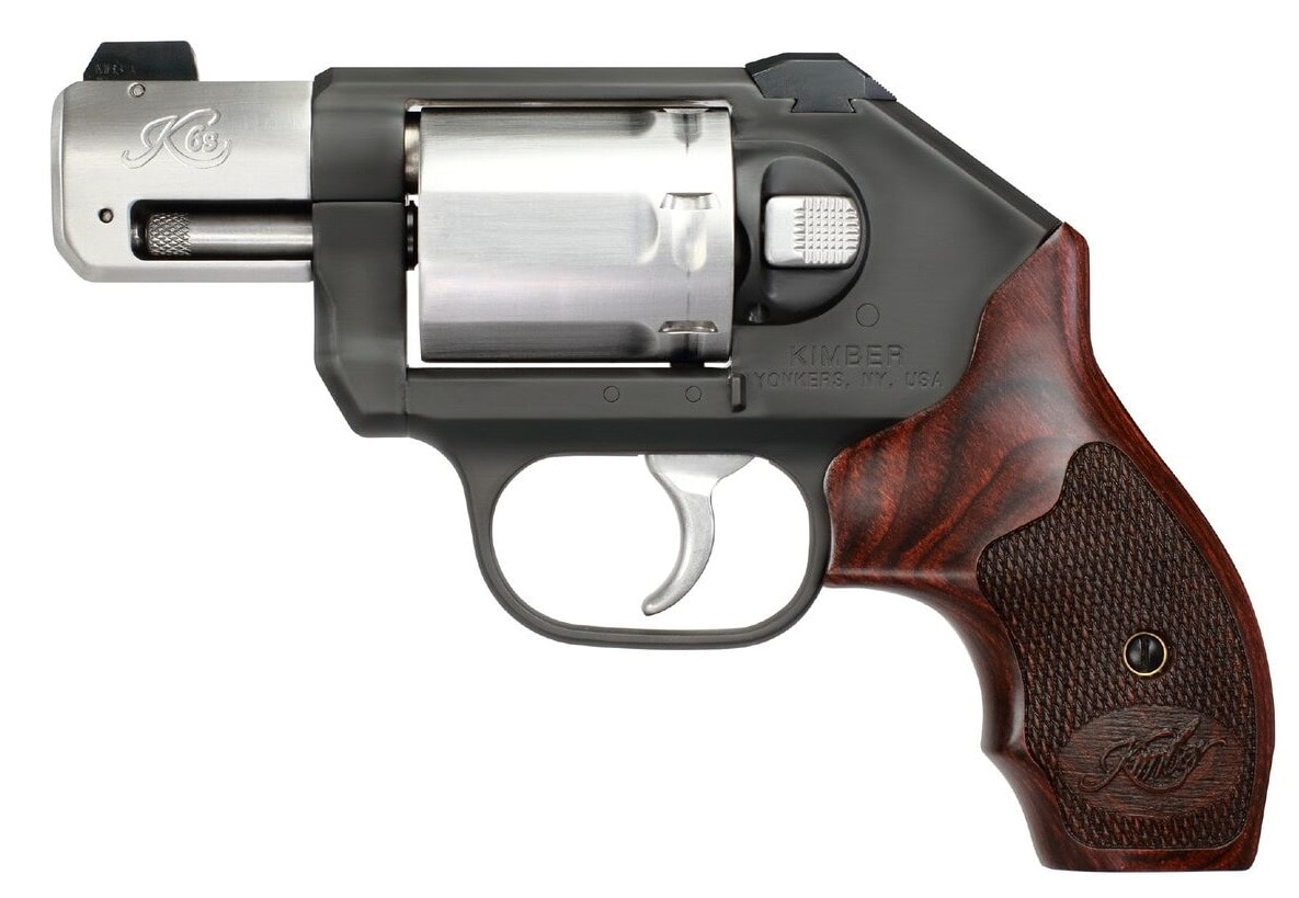 The two-tone K6s CDP (Custom Defense Package) includes night sights and laminate grips
