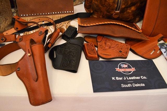 K Bar J Leather Company, of Newell, South Dakota. (Photo: The White House)