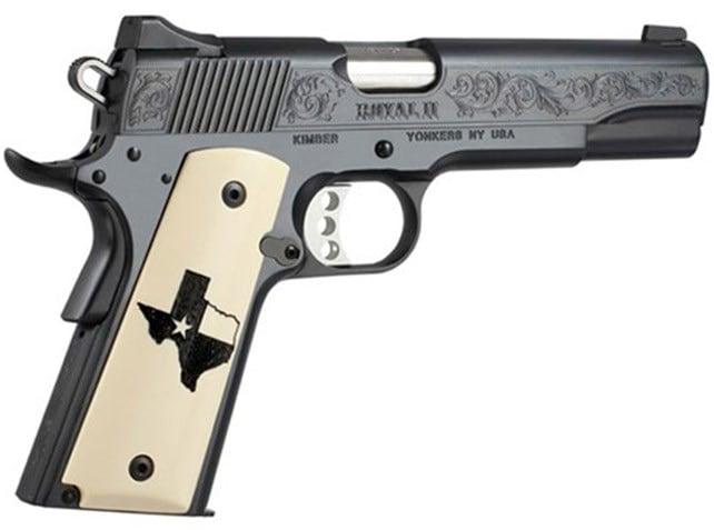 "The Kimber ""Texas Edition"" 1911 pistol. (Photo: Kimber)"