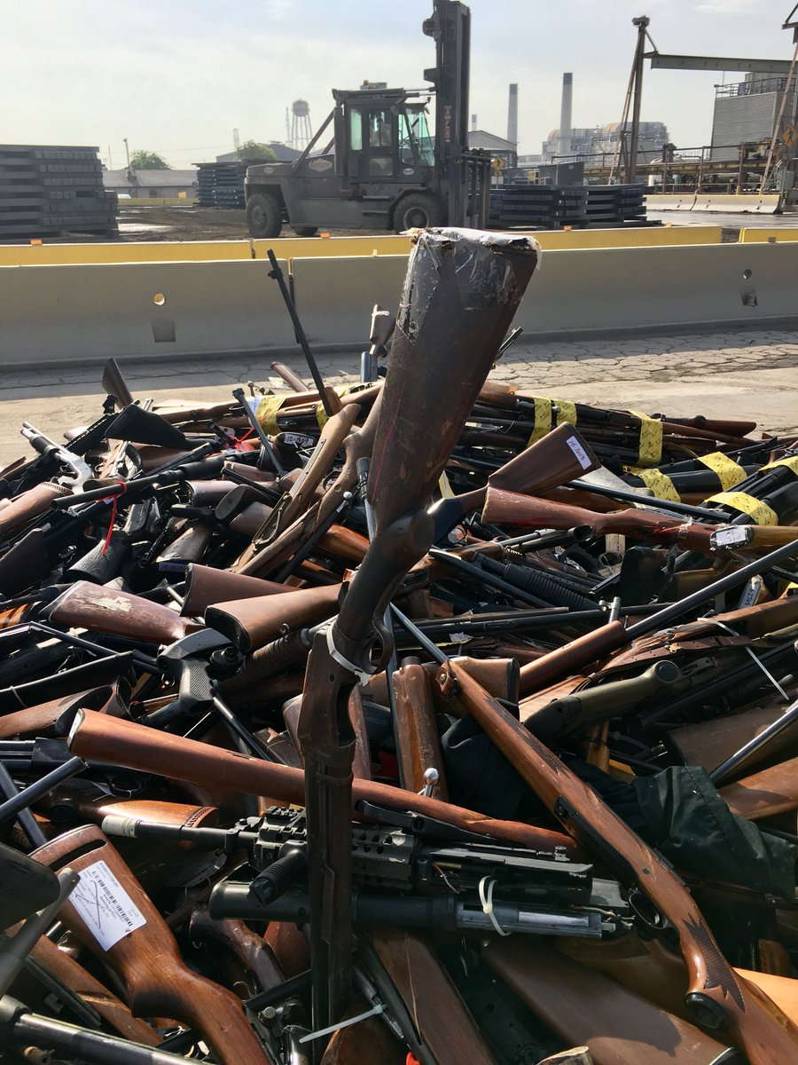 LA County melted down 4,971 guns into rebar this week (VIDEO) (4)