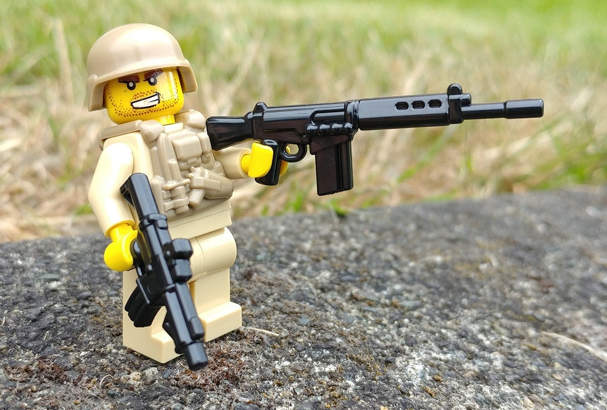 BrickArms offers guns and minifigures to keep Lego fans satisfied. (Photo: BrickArms)