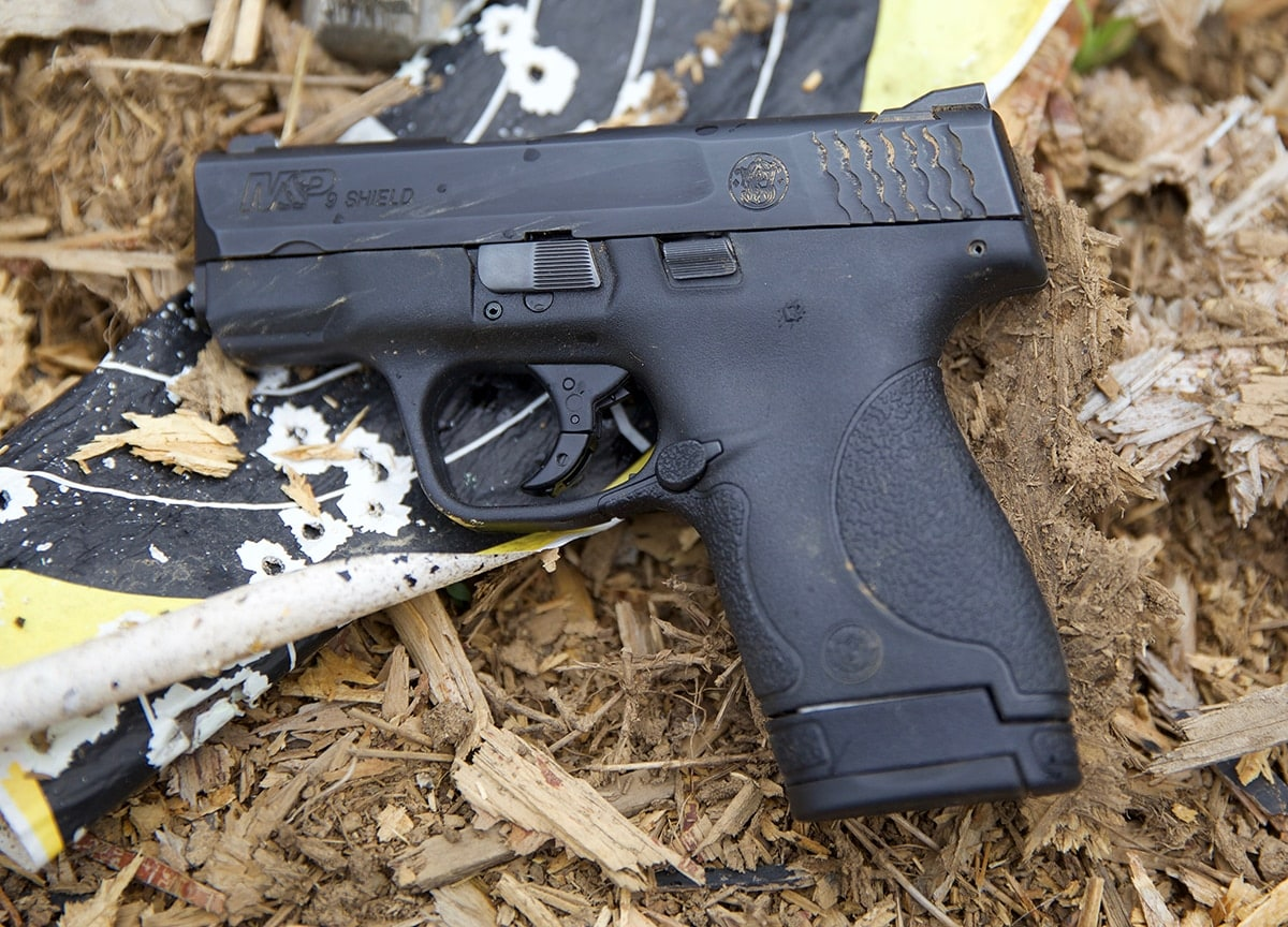 The Summer Savings promo includes the company's popular M&P shield series. (Photo: Jacki Billings)