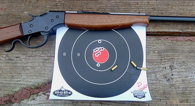 Single shot  22 rifles are not just for kids