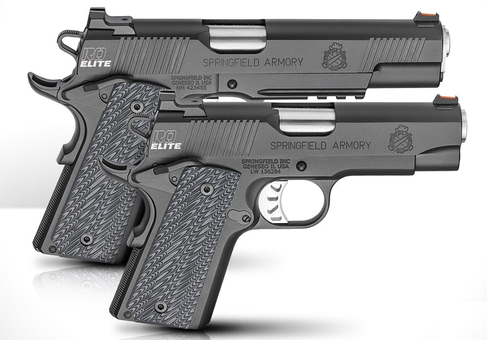 Illinois-based Springfield Armory has four new models of Range Officer series 1911s, each availible in either 9mm or 45ACP. (Photos: SA)