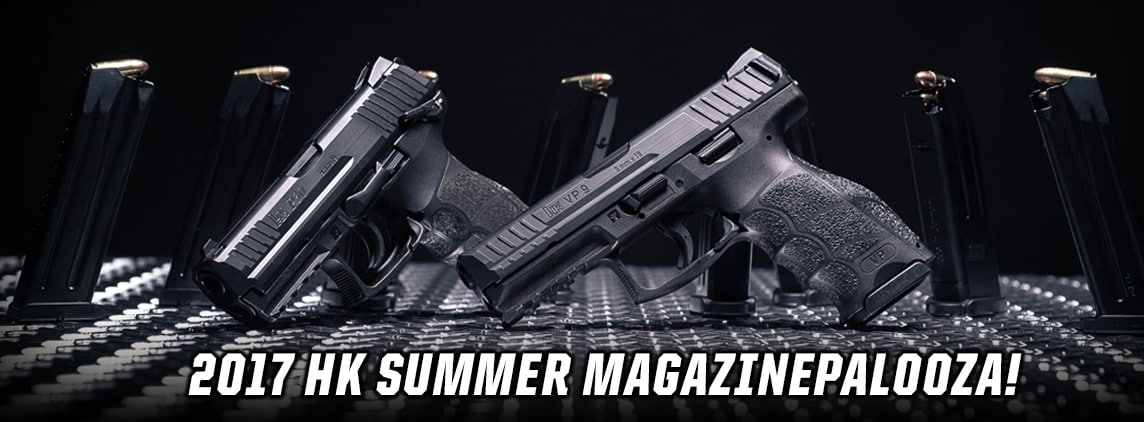 The Summer Magazinepalooza includes HK's P30 and VP series. (Photo: Heckler & Koch)