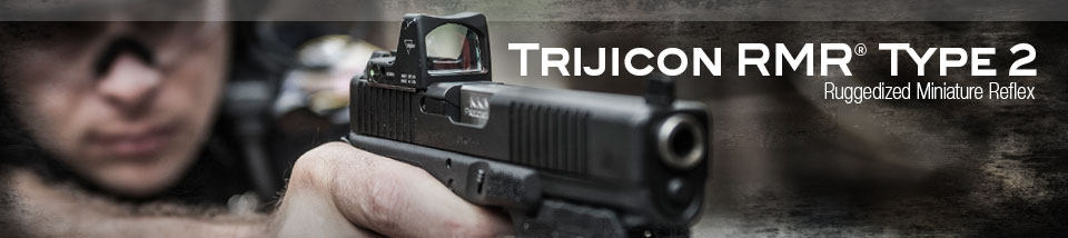 The RMR Type 2 is design works well alongside handguns. (Photo: Trijicon)