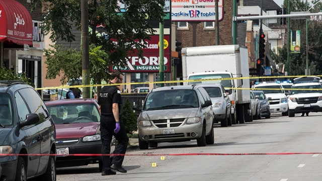 Chicago officer shooting