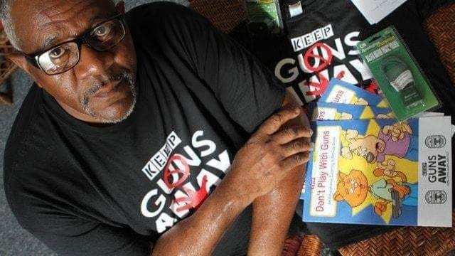 Gun safety activist Luther Brown. (Photo: Facebook)