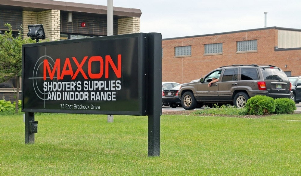 Maxon Shooter's Supplies and Indoor Range. (Photo: Chicago Sun-Times)