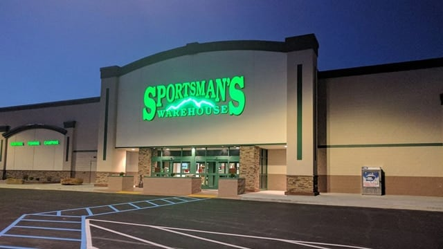 Top executives for Sportman's Warehouse said this week the difficult retail environment for guns and ammunition isn't surprising. (Photo: Sportman's Warehouse/Facebook)