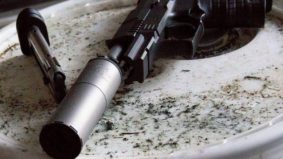 Photo of an Innovative Arms Slingshot TI silencer. (Photo: Silencer Shop/Facebook)