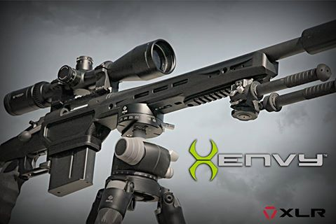 The Envy joins XLR's lineup of rifle chassis. (Photo: XLR)