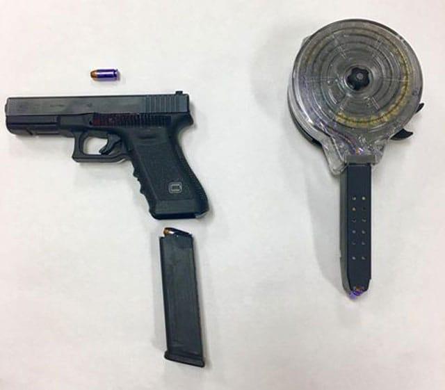 gun 40 cal 50 round drum