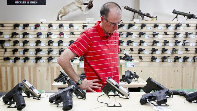 "The gun industry's lingering ""malaise"" will keep prices low for buyers, analysts suggest. (Photo: Sarah Nader/Northwest Herald)"