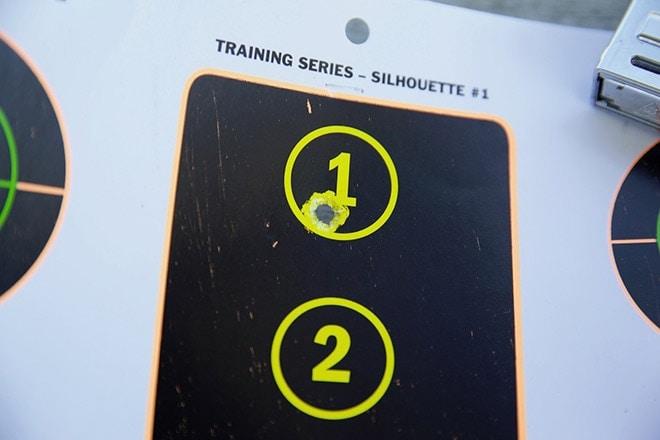 training targets shot