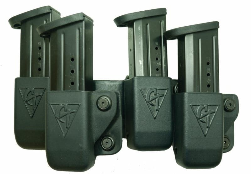 The Beltfeed high capacity mag pouch delivers access to more rounds for competition shooters, police or gun owners who want to carry a few extra bullets. (Photo: Comp-Tac)