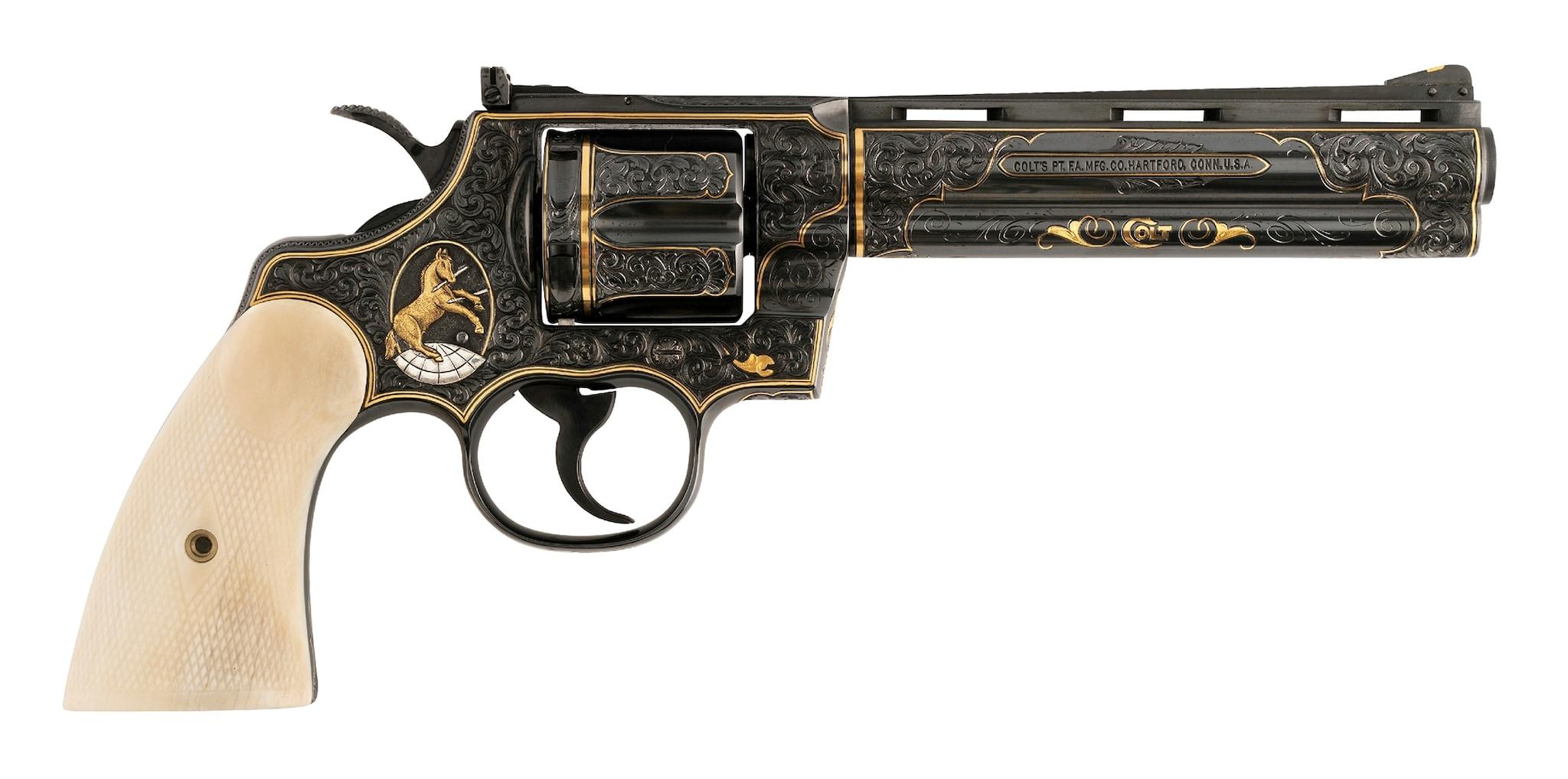 Colt Python 357 mag (Photo: Michael Dubber)