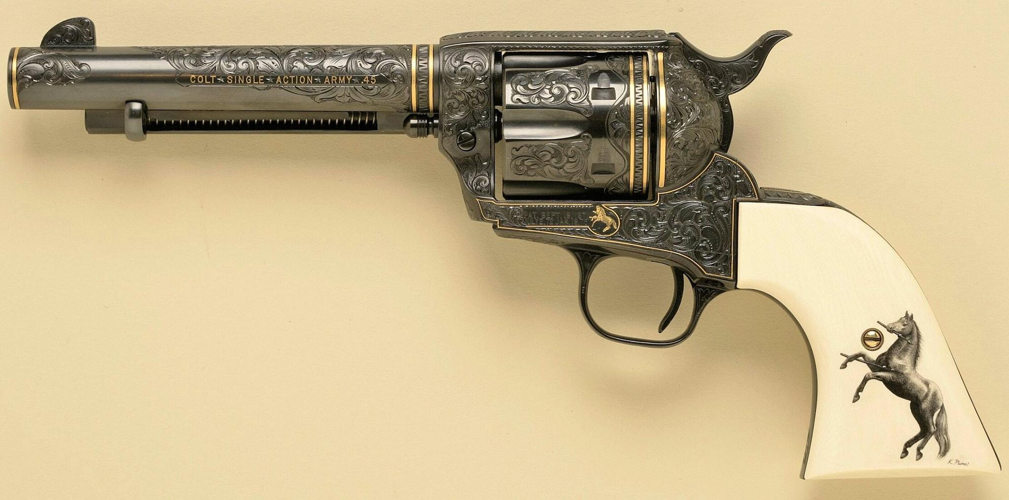 Colt Single Action Army .45 (Photo: Michael Dubber)
