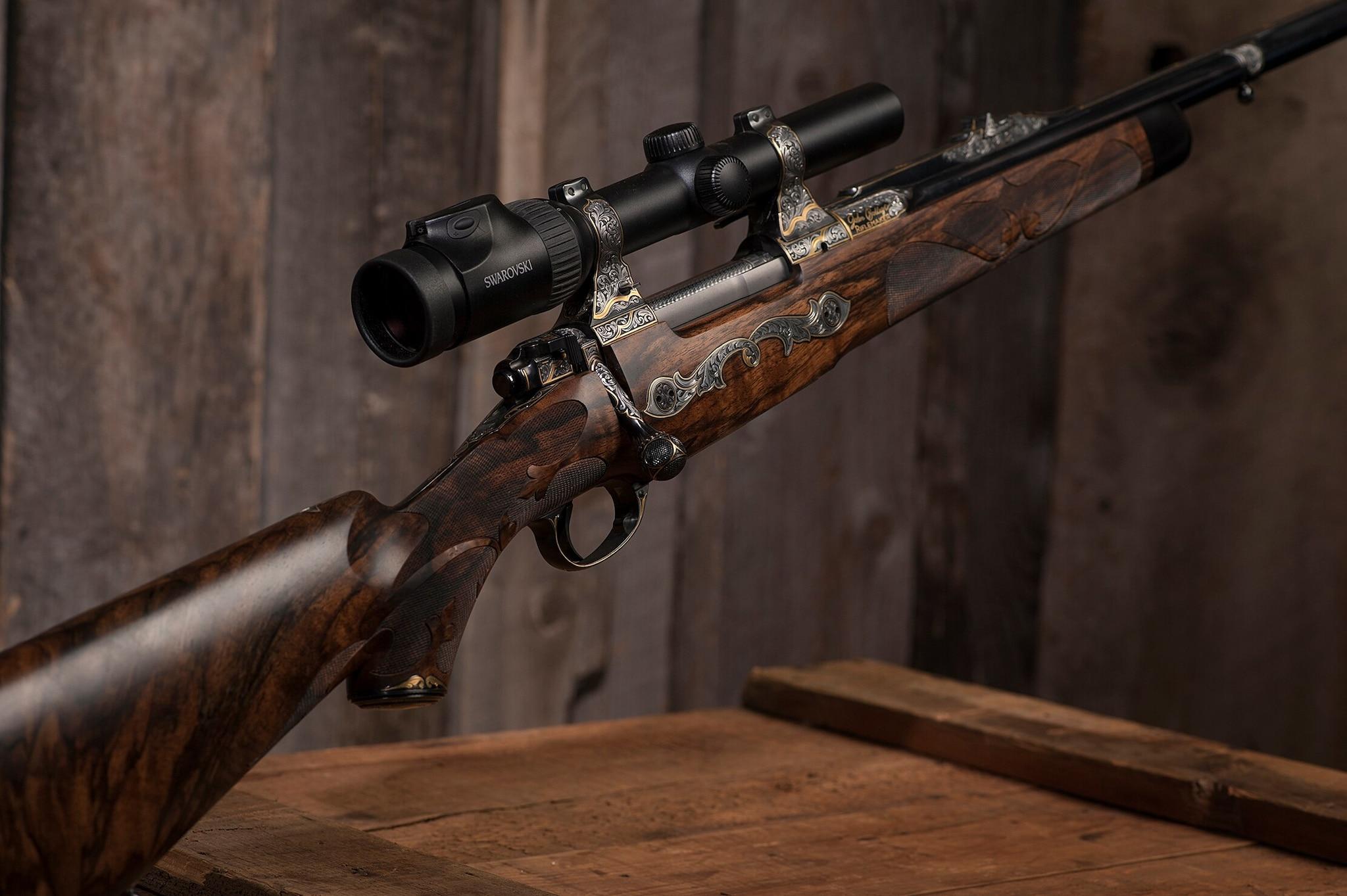 Bolliger Cutsom .375 H&H rifle (Photo: Michael Dubber)