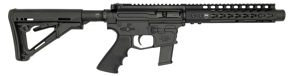 Dark Storm Industries' DS Hailstorm 9mm comes in two configurations -- pistol and SBR. (Photo: DSI)
