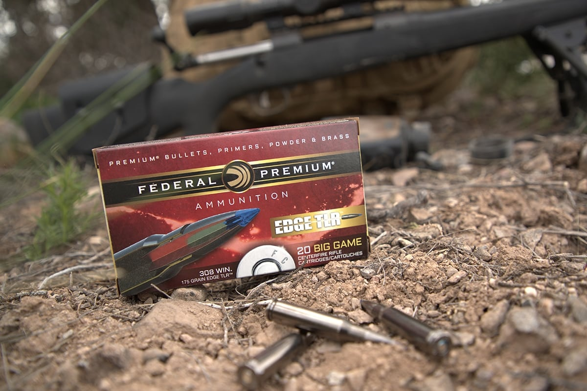 The Edge TLR series is all all-range hunting ammunition, allowing for both close up and distance shots. (Photo: Vista Outdoor)