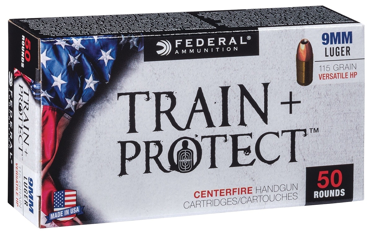 The Train + Protect series aims to give shooters an option that functions on the range and off. (Photo: Vista Outdoor)
