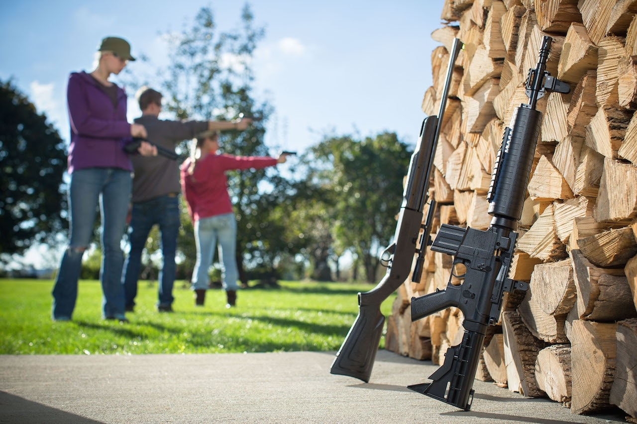 "Crosman describes itself as an ""international designer and manufacturer of airguns with a 90-year history of making the best pellet, BB and airsoft guns and ammunition. (Photo: Crosman/Crosman.com)"