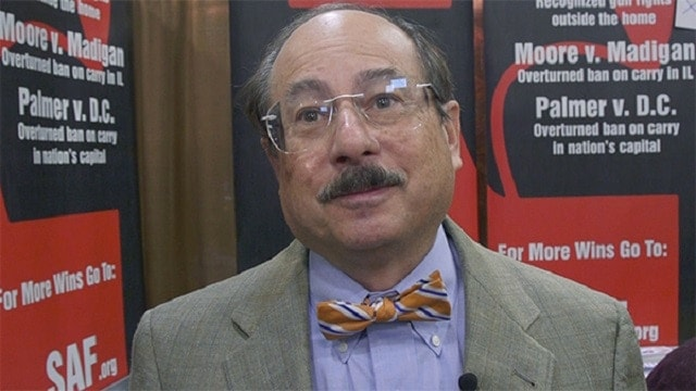 Alan Gottlieb, founder and executive vice president of the Second Amendment Foundation.