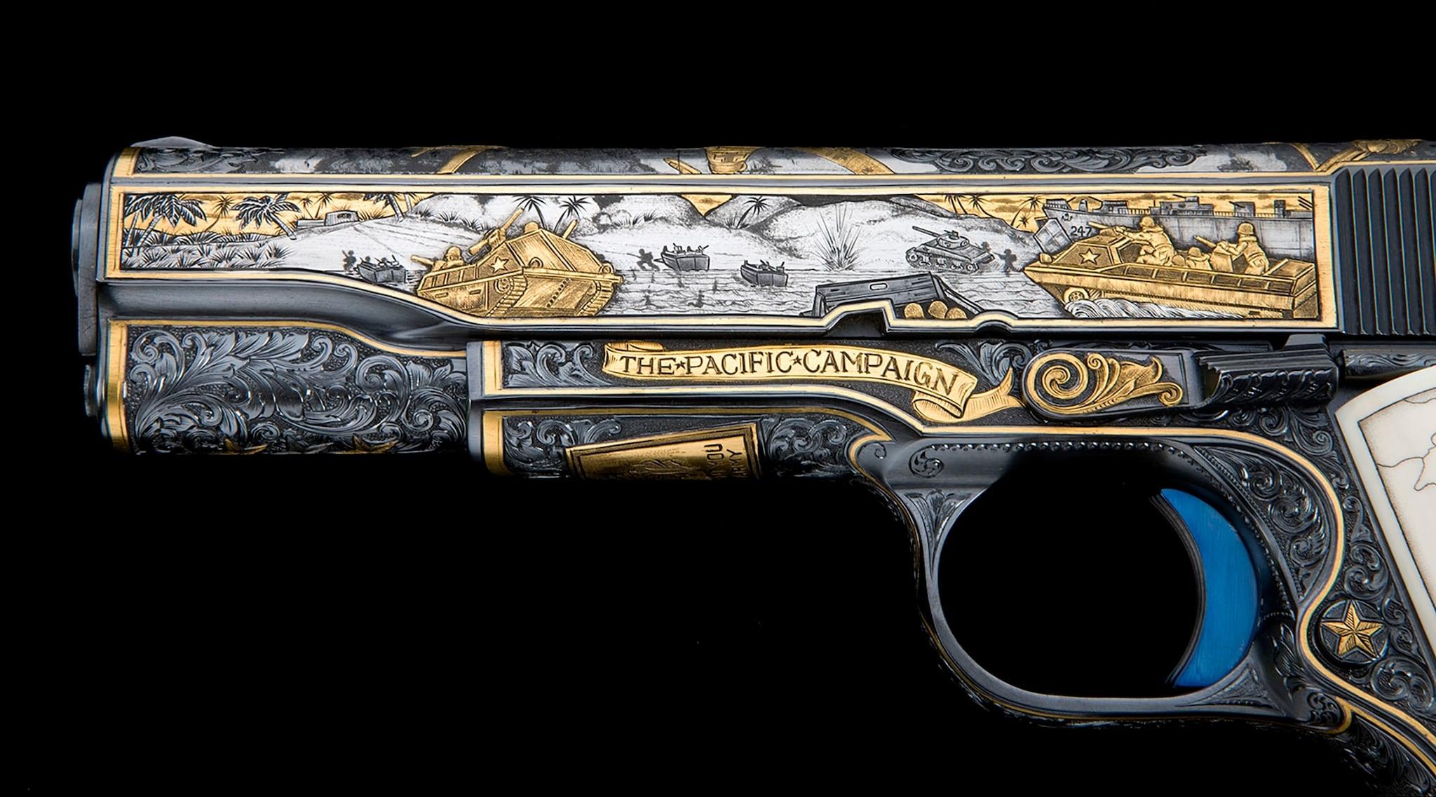 Greatest Generation Colt - Model of 1911 Colt A1 .45 cal (Photo: Michael Dubber)