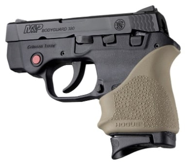 The HandALL Grip Sleeve for the Smith & Wesson Bodyguard and Taurus TCP or Spectrum comes in a variety of colors. (Photo: Hogue Inc.)