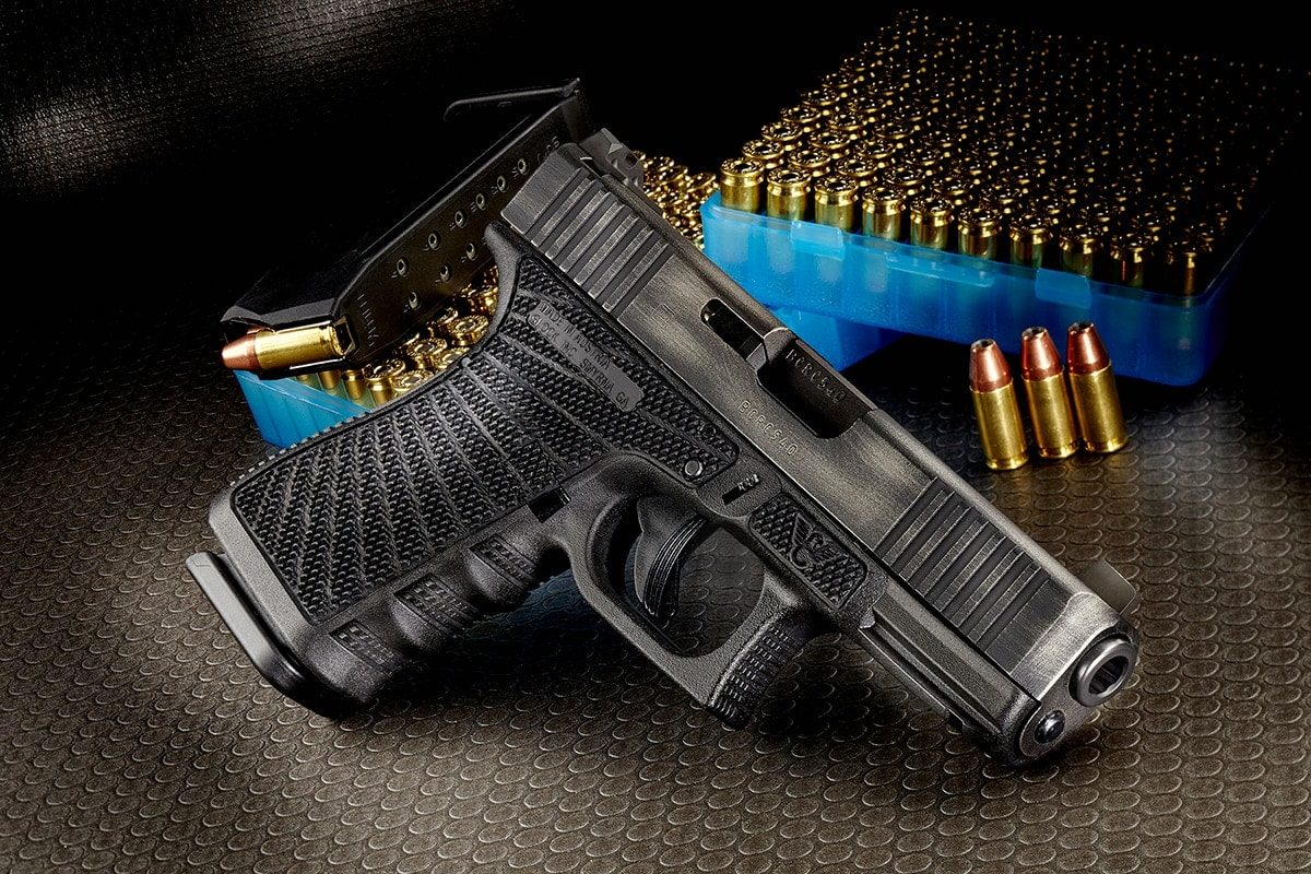Wilson Combat offers Glock upgrades such as starburst stippling on the frame and trigger mods. (Photo: Wilson Combat)
