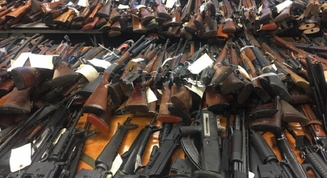 A total of 4,775 guns were collected at New Jersey's most recent gun buybacks, and a member of the Garden State's Congressional delegation wants to take the program national. (Photo: Facebook)