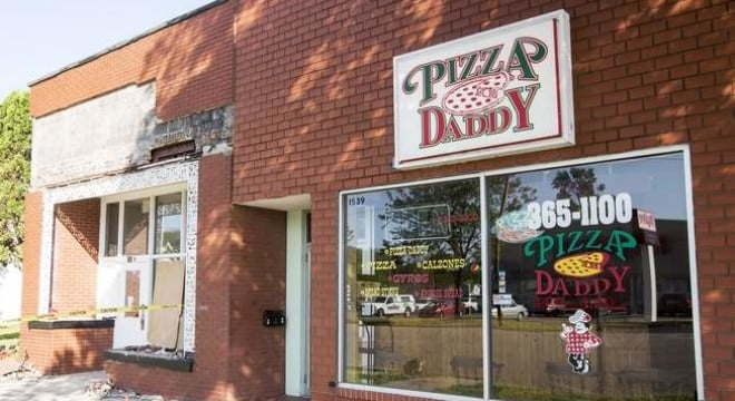 Authorities dismantled the ring in 2015 after intercepting containers filled with heavy equipment and clothing used to mask firearms, some wrapped in bags for Pizza Daddy, an eatery the family owned. (Photo: The Cedar Rapids Gazette)