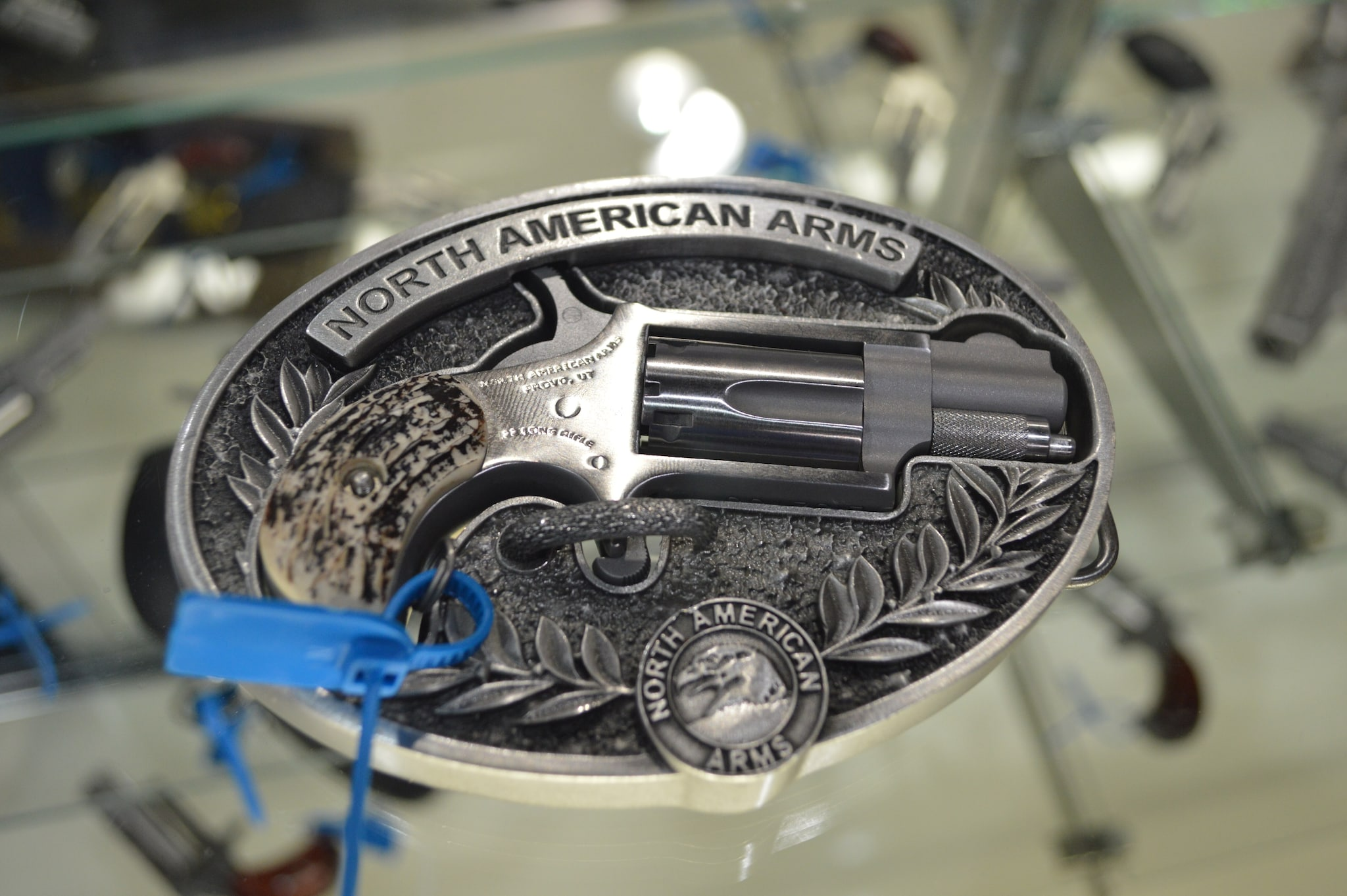 North American Arms has long been known for all things micro in the world of ultra-concealable firearms. Their belt-buckle pistols have a cult-like following, and shooters will be pleased to know they're still in production. (Photo: Kristin Alberts/Guns.com)