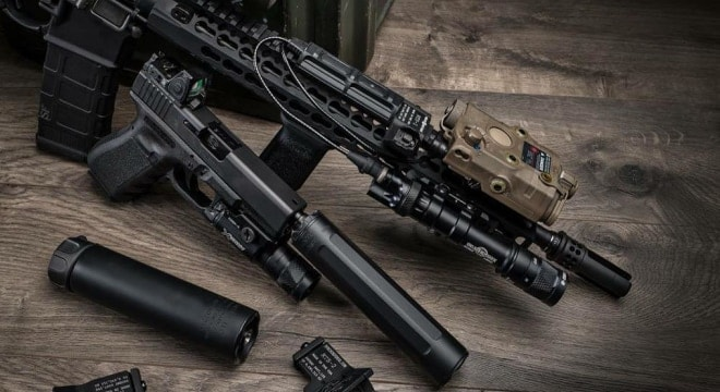 The number of NFA items on the books have never been higher, led by aggressive growth in SBRs and suppressors. (Photo: SureFire)