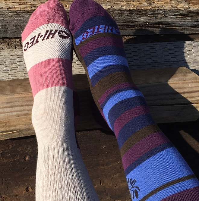 Performance_socks_(left)_offer_greater_ankle_protection_in_boots.