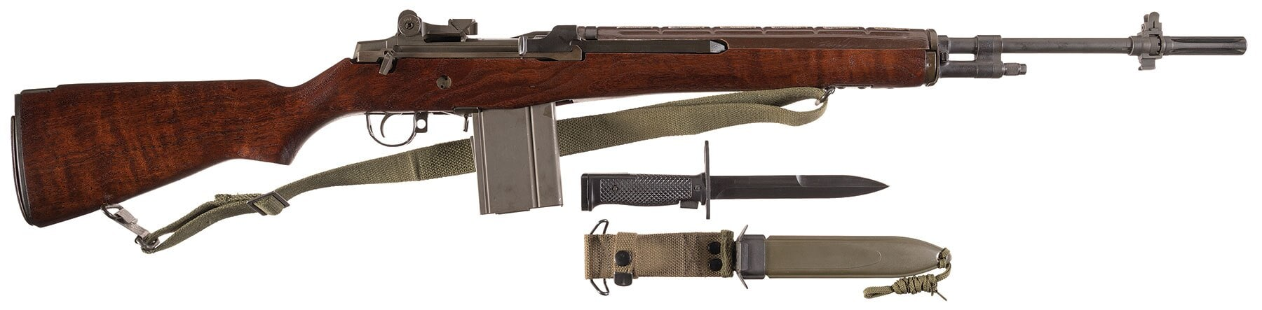 If you want an actual factory original M14 battle rifle, they also have this H&R formerly used by the Department of Energy. Estimated Price: $22,500 - $35,000