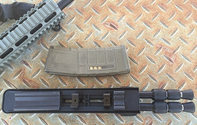 Swagger_bipod_with_Picatinny_rail_adapters.
