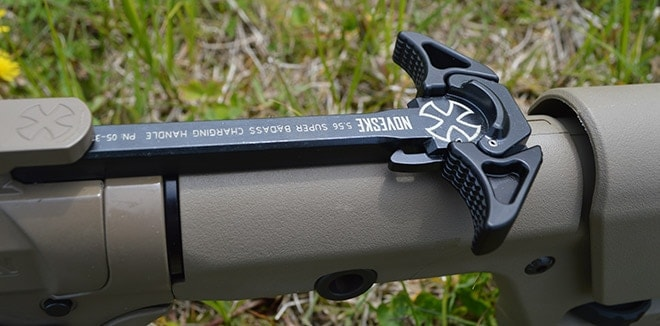The_Super_Badass_charging_handle_is_a_nice_touch,_and_its_also_practical_and_easy_to_operate