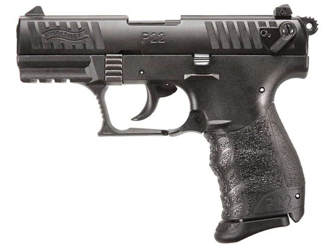 The P22DQ offers a threaded barrel and upgraded safety features. (Photo: Walther)