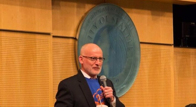 Seattle Councilman Tim Burgess, who introduced the tax legislation in 2015 and has been its biggest champion, was vindicated and hoped other cities will follow Seattle's lead. (Councilman Burgess)