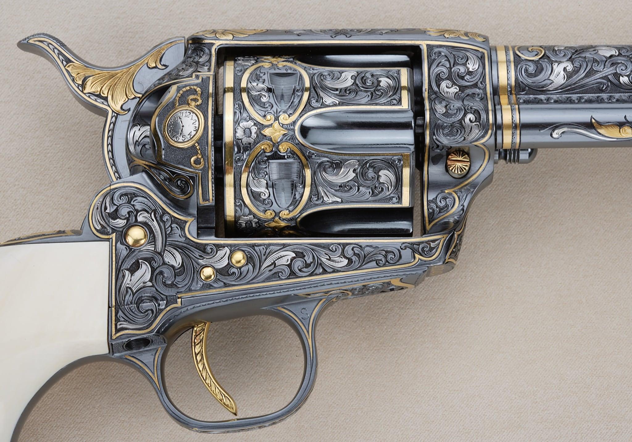 Wild Bill Hickok Colt Buntline Special .45 (Photo: Michael Dubber)