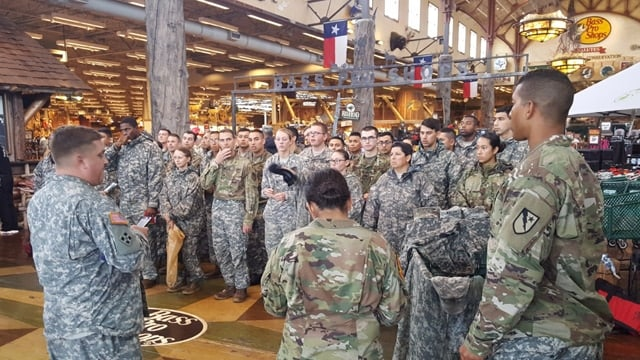 Bass Pro Shops and other outdoor retailers pledged money and supplies to the ongoing Harvey relief effort (Photo: Bass Pro Shops/Twitter)