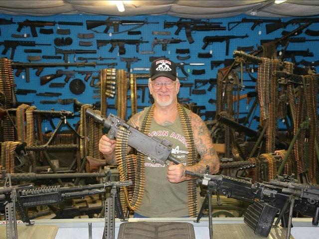 """Mel """"Dragon Man"""" Bernstein, owner of Dragonman gun store and shooting range in Colorado Springs. (Photo: Facebook)"""